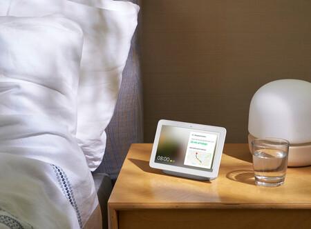 Google actualiza sus altavoces con pantalla Nest Hub y Hub Max con tres nuevos fondos de pantalla en su reloj
