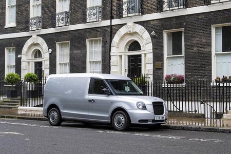 Furgoneta electrica london taxi LEVC