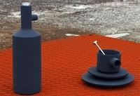 ¿Buena o mala idea?, piezas industriales utilizadas como juego de té