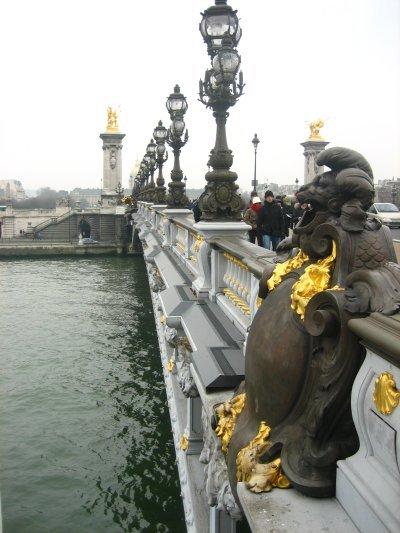 El puente más bonito de París: Alejandro III