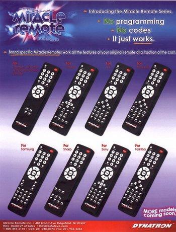 El mando definitivo, Dynatron Miracle Remote