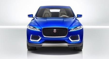 El Jaguar C-X17 SUV Concept muestra su frontal