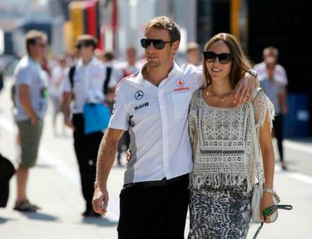 Jenson Button y Jessica Michibata, otros que se casan