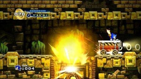 'Sonic the Hedgehog 4'. Imágenes de su segunda zona: Lost Labyrinth (actualizado)