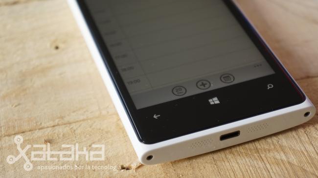 Nokia Lumia 920 botones
