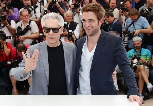 Cronenberg y Pattinson en Cannes