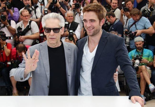 Cronenberg y Pattinson en Cannes