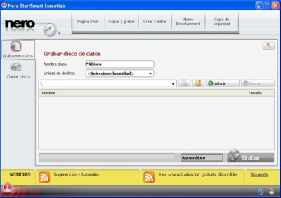 Nero saca una versión gratuita de su software para grabar CDs y DVDs
