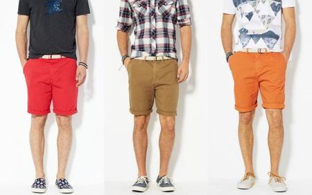 color shorts for summer