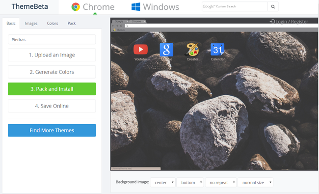 Chrome Theme Creator