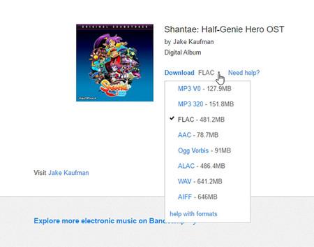 Shantae Half Genie Hero Formatos
