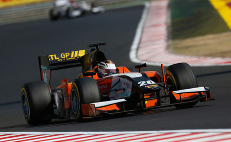 Dani Clos Hungaroring 2013
