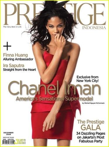 Chanel Iman en la revista Prestige