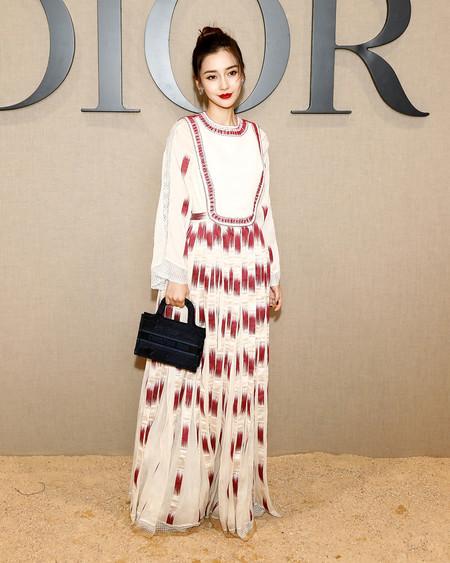 Dior Mini Book Tote Stars In Dior Angelababy