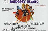 Cómic en cine: 'Modesty Blaise, superagente femenino', de Joseph Losey