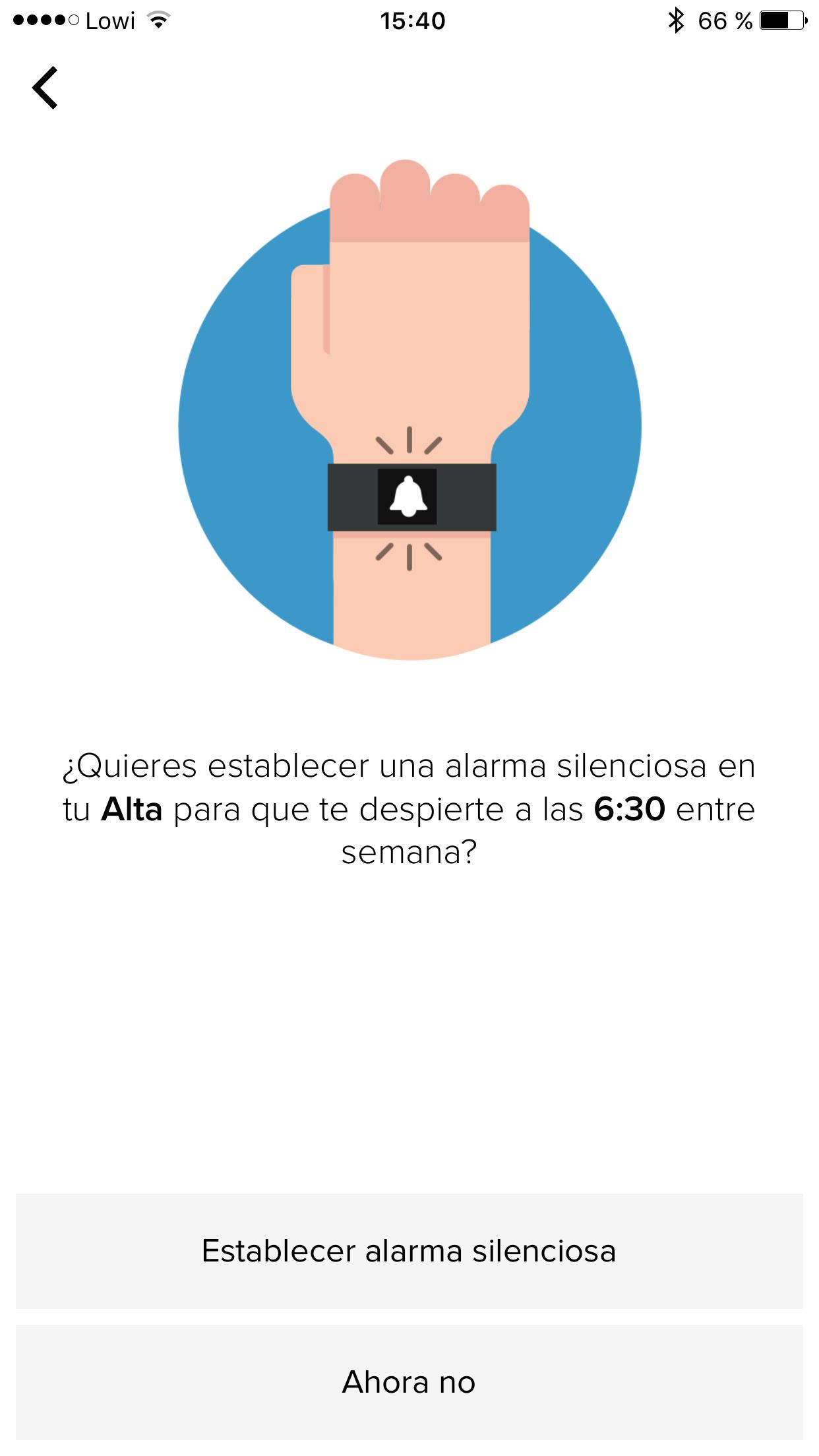 Foto de Fitbit interfaz (11/17)