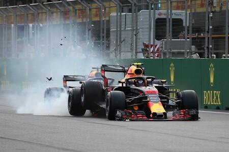 Verstappen Ricciardo Baku F1 2018