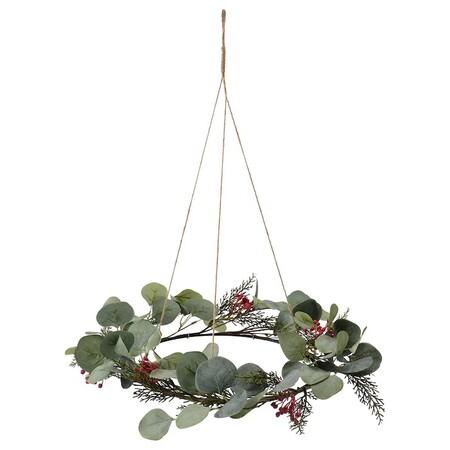 Smycka Corona Navidad Artificial Int Ext Eucalipto 0930173 Pe790630 S5