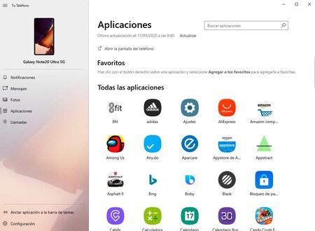 Windows Samsung Tu telefono