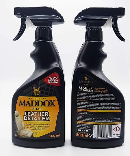 Limpiador de cuero