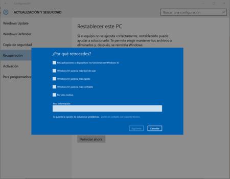 e08d242d9ed Te arrepientes de actualizar a Windows 10? Así puedes volver a ...