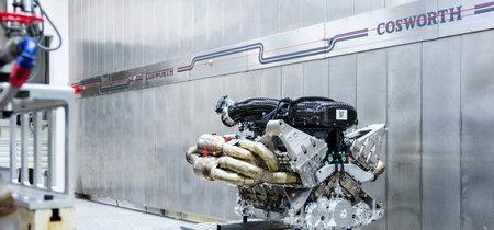 Así grita el motor Cosworth 6.5 V12 atmosférico del Aston Martin Valkyrie: más de 1.000 CV y 11.100 rpm