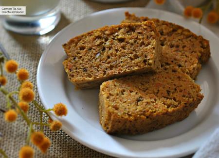 Bizcocho de zanahoria: receta fácil para un desayuno o merienda deliciosa