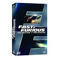 De la primera a la séptima entrega de Fast & Furious en un pack de DVDs por 24 euros en Amazon