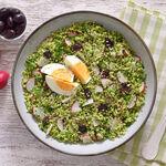 Ensalada cuscús de brócoli: receta saludable, ligera y saciante para personalizar al gusto