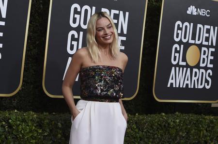 Una impecable Margot Robbie nos recuerda el poder de las lentejuelas en la alfombra roja de los Globos de Oro 2020