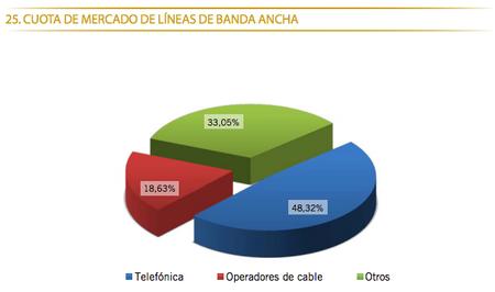 Banda ancha Enero 2013