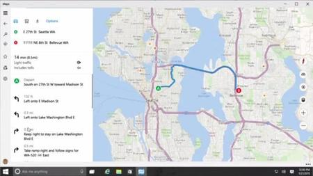 Windows 10 Maps