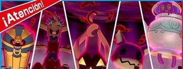 Pokémon Espada y Escudo: todos los Pokémon Dinamax que aparecerán en las Incursiones por Halloween