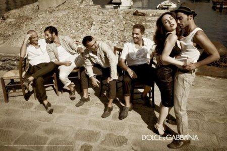 Dolce Gabbana 2012 hombre campaña