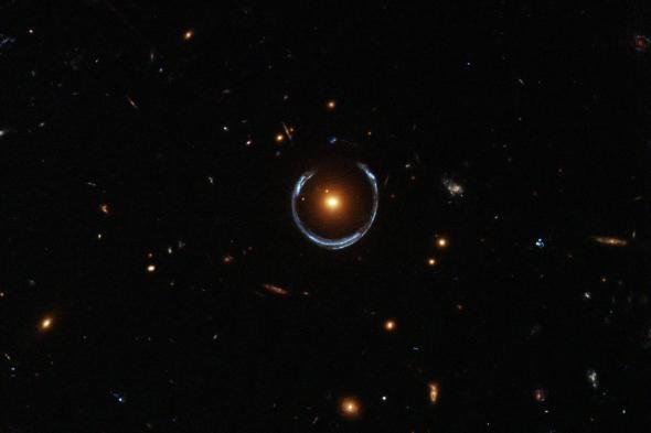 Hubble Einstein Ring Adapt 590 1