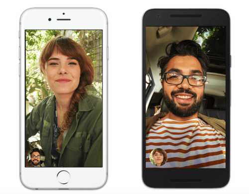 Google Duo y FaceTime: tan parecidas y distintas al mismo tiempo