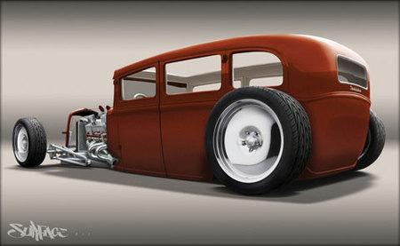 1931 Studebaker Hot Rod de Toyo Tires para el SEMA Show