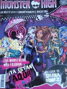 La revista oficial de las muñecas Monster High