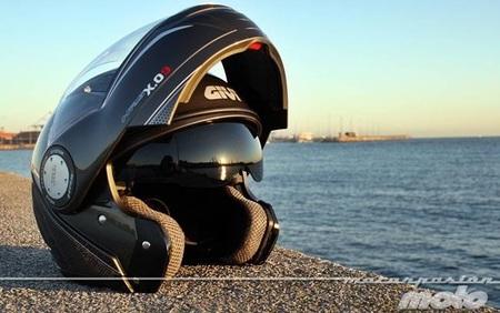 GIVI X.09, prueba del casco modular convertible a jet