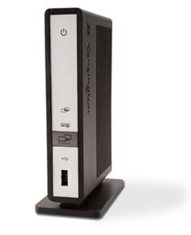 Dock de Kensington para conectar pantallas por USB a un Mac