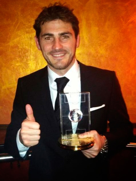 iker casillas balon de oro