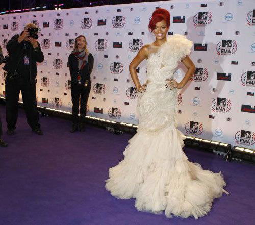 Foto de Alfombra roja de los MTV 2010. Eva Longoria espectacular, Rihanna sorprendente y mucho más (4/5)