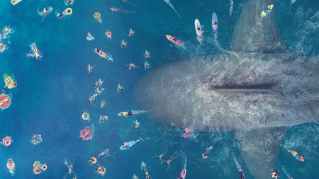 The Meg Movie Megalodon Shark W226