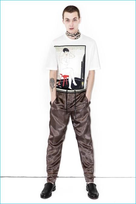 31 Phillip Lim Mens 2016 Reversible Elastic Waist Pajama Pants
