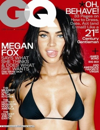 Megan Fox tremendamente sensual en GQ