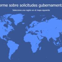 Los gobiernos le piden cada vez más información a Facebook, en España el aumento es del 41%