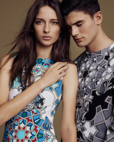 Jevan Williams Versace Collection Spring Summer 2016 Lookbook 006