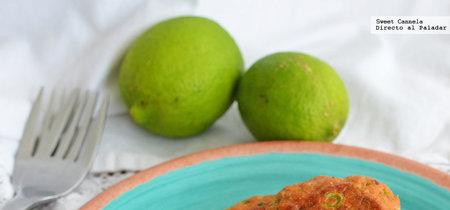Tortitas de pescado estilo thai. Receta