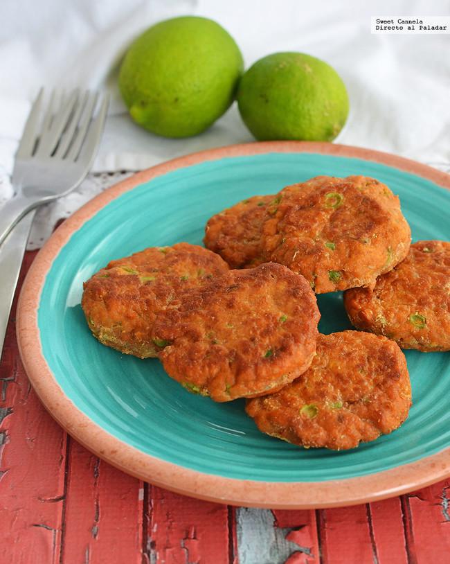 Tortitas De Pescado Con Curry