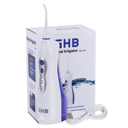 Oferta flash en Amazon: Irrigador dental de GHB por sólo 28,04 euros ¡Ideal para mantener la salud de tu boca!